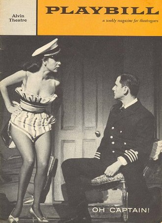 Oh, Captain! - Playbill from the Broadway production
