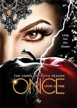 Once Upon a Time (season 6) - DVD cover