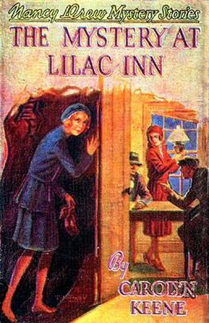 The Mystery at Lilac Inn - Original edition cover