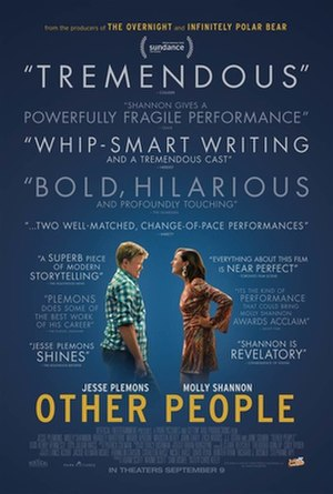 Other People (film) - Theatrical release poster