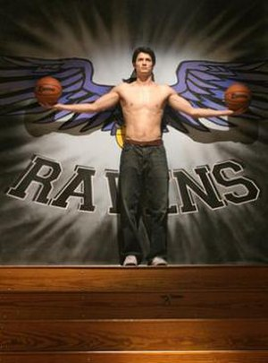 """Nathan Scott - Nathan posing for his yearbook image. In episode """"Pictures of You"""""""