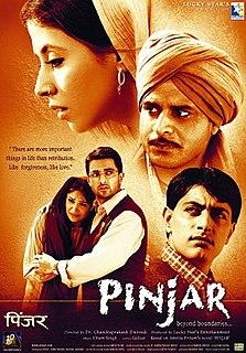 <i>Pinjar</i> (film) 2003 film by Chandraprakash Dwivedi
