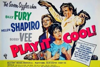 Play It Cool (film) - British theatrical poster