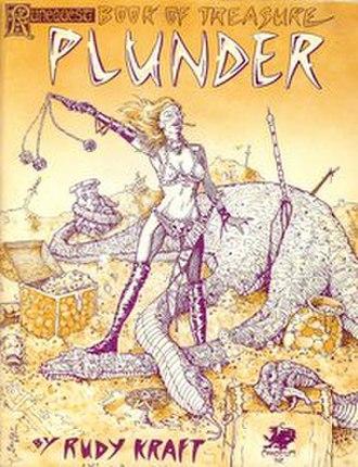 Plunder (RuneQuest) - Image: Plunder, Runequest supplement