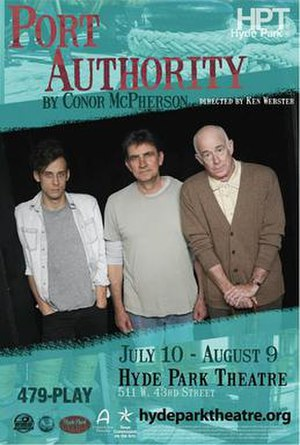 Port Authority (play) - Poster for the 2014 Hyde Park Theatre production
