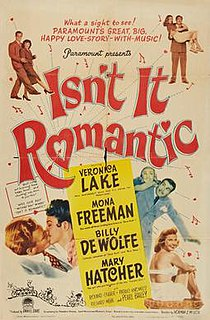 <i>Isnt It Romantic?</i> (1948 film) 1948 film by Norman Z. McLeod