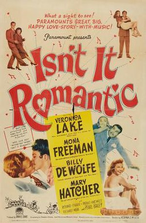 Isn't It Romantic? (1948 film) - Theatrical poster