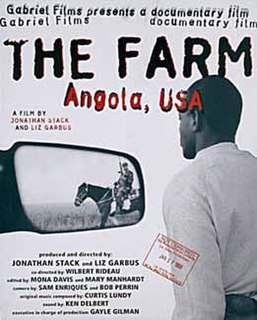 <i>The Farm: Angola, USA</i> 1998 American documentary film