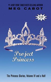 <i>The Princess Diaries, Volume IV and 1/2: Project Princess</i> book by Meg Cabot