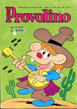 Provolino - Comic version of Provolino, 1977.