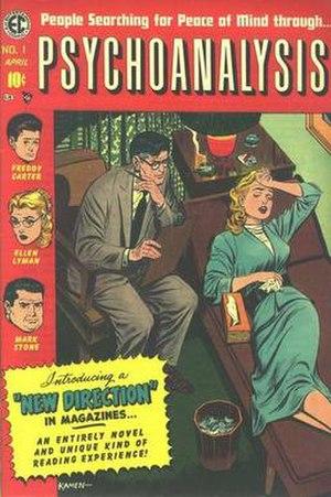 Psychoanalysis (comics) - Cover illustration by Jack Kamen