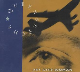Jet City Woman - Image: Queensryche Jet City Woman cover