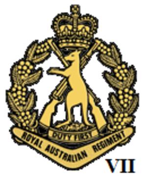 7th Battalion, Royal Australian Regiment - Badge of the Royal Australian Regiment