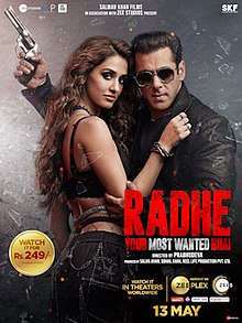 Radhe 2021 Hindi 480p Web-DL 500MB