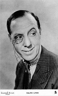 Ralph Lynn English actor
