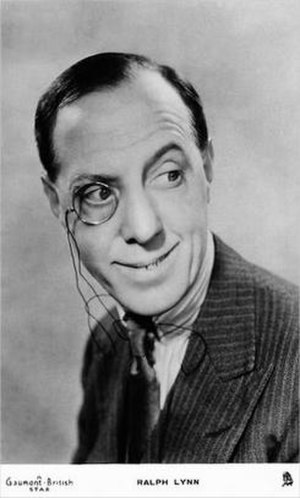 Ralph Lynn - Lynn in the early 1930s