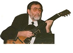 Ralph Patt plays guitar