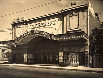 South Yarra, Victoria - Regent Theatre on Toorak Road in 1927