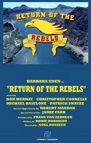Return of the Rebels - Image: Return of the Rebels poster