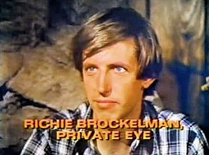 Richie Brockelman, Private Eye - Image: Richie Brockleman Title Card