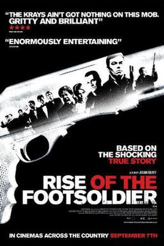 Rise of the Footsoldier - Theatrical release poster
