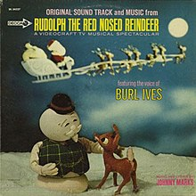 Rudolph The Red Nosed Reindeer Burl Ives >> Rudolph the Red-Nosed Reindeer (soundtrack) - Wikipedia