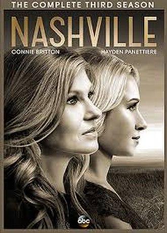 Nashville (season 3) - Season 3 DVD cover
