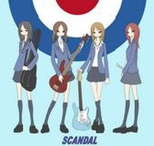 Scandal (Japanese band) - Scandal, as represented in their animated form