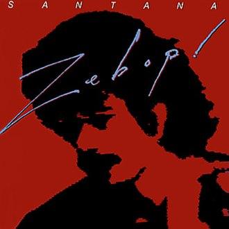 Zebop! - Image: Santana Zebop Album