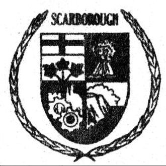 Scarborough, Toronto - Coat of arms of former Scarborough