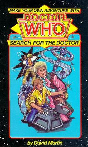 Search for the Doctor - Image: Search for the Doctor UK cover