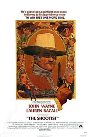 The Shootist - Theatrical release poster by Richard Amsel