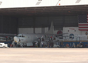 Naval Air Station Jacksonville - A P-3C Orion from VP-5.