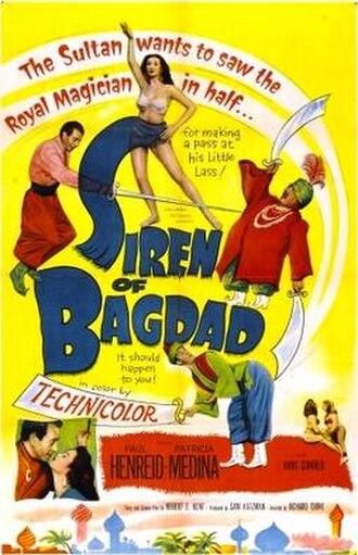 Siren of Bagdad - Image: Siren of Bagdad poster