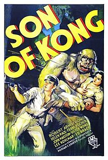 <i>Son of Kong</i> 1933 American adventure monster film directed by Ernest B. Schoedsack