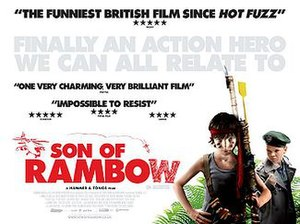 Son of Rambow - UK quad poster