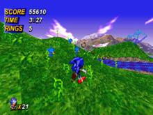 Zrzut ekranu poziomu w silniku bossa