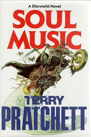 Soul Music (novel) - Image: Soul music cover