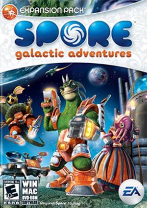 Spore: Galactic Adventures - Image: Spore Galactic Adventures Coverart