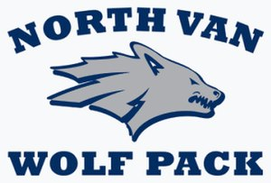 North Vancouver Wolf Pack - Image: Squamish Wolfpack Logo