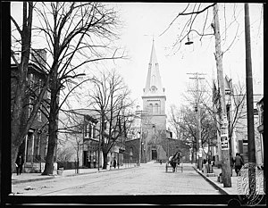 Benedict Swingate Calvert - St Ann's Church, Annapolis, where Calvert was married in 1748.