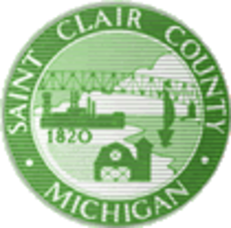St. Clair County, Michigan - Image: St Clair County mi seal