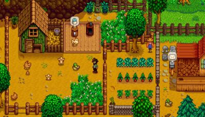 Stardew Valley - Stardew Valley puts the player in charge of running a small farm, including growing crops and raising livestock.