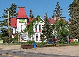 Sundridge, Ontario - Steirerhut Restaurant along Hwy. 11.