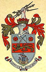 Coat of arms of Stretford Borough Council