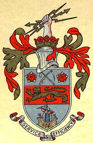 Stretford - Arms of the former Stretford Municipal Borough Council