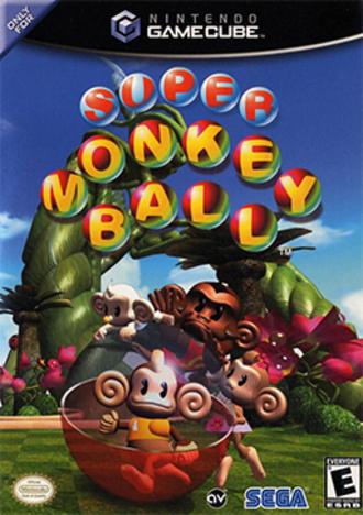 Super Monkey Ball (video game) - North American box art