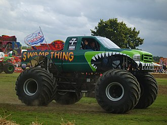 Swamp Thing (truck) - Image: Swamp Thing Monster Truck