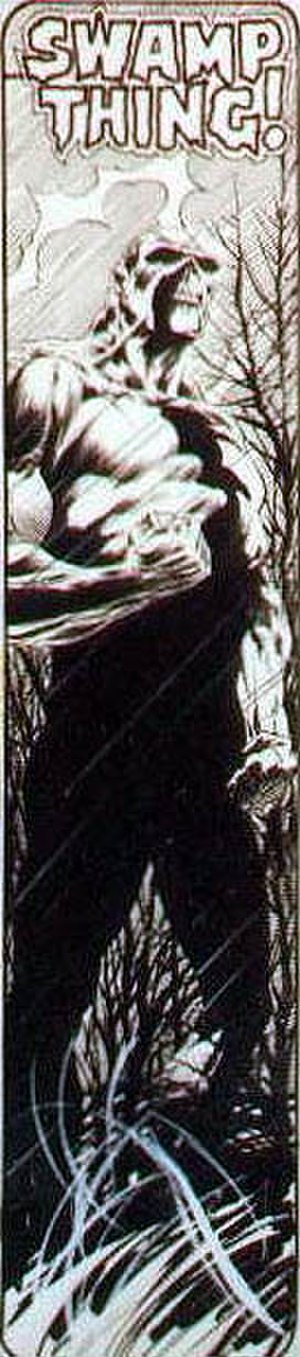 Bernie Wrightson - Swamp Thing No. 1 panel, original ink art by Wrightson