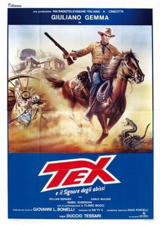Tex and the Lord of the Deep - Film poster